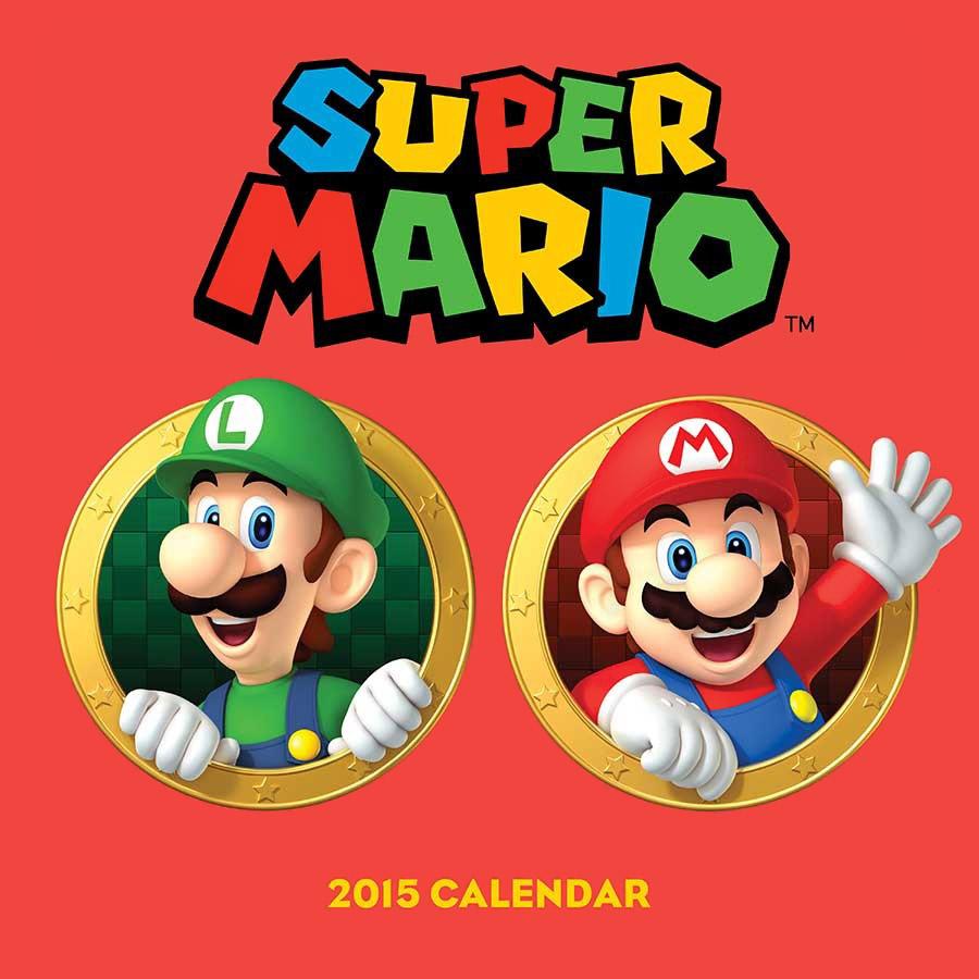 Super Mario 2015 Calendar
