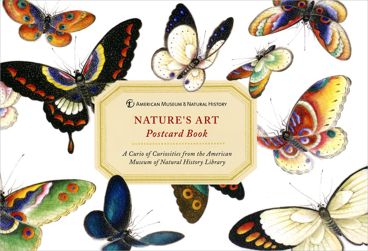 AMNH Nature's Art Postcard Book