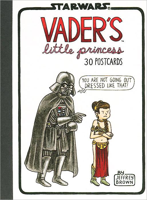 Vader's Little Princess: 30 Postcards