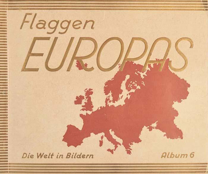 Флаги стран Европы. Книга-альбом