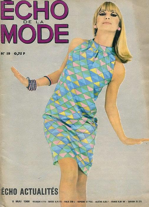 Echo de la mode, №19, 1966