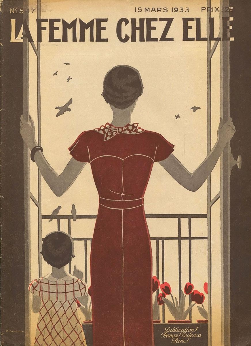 La Femme chez Elle, №5(47), 15 mars 1933