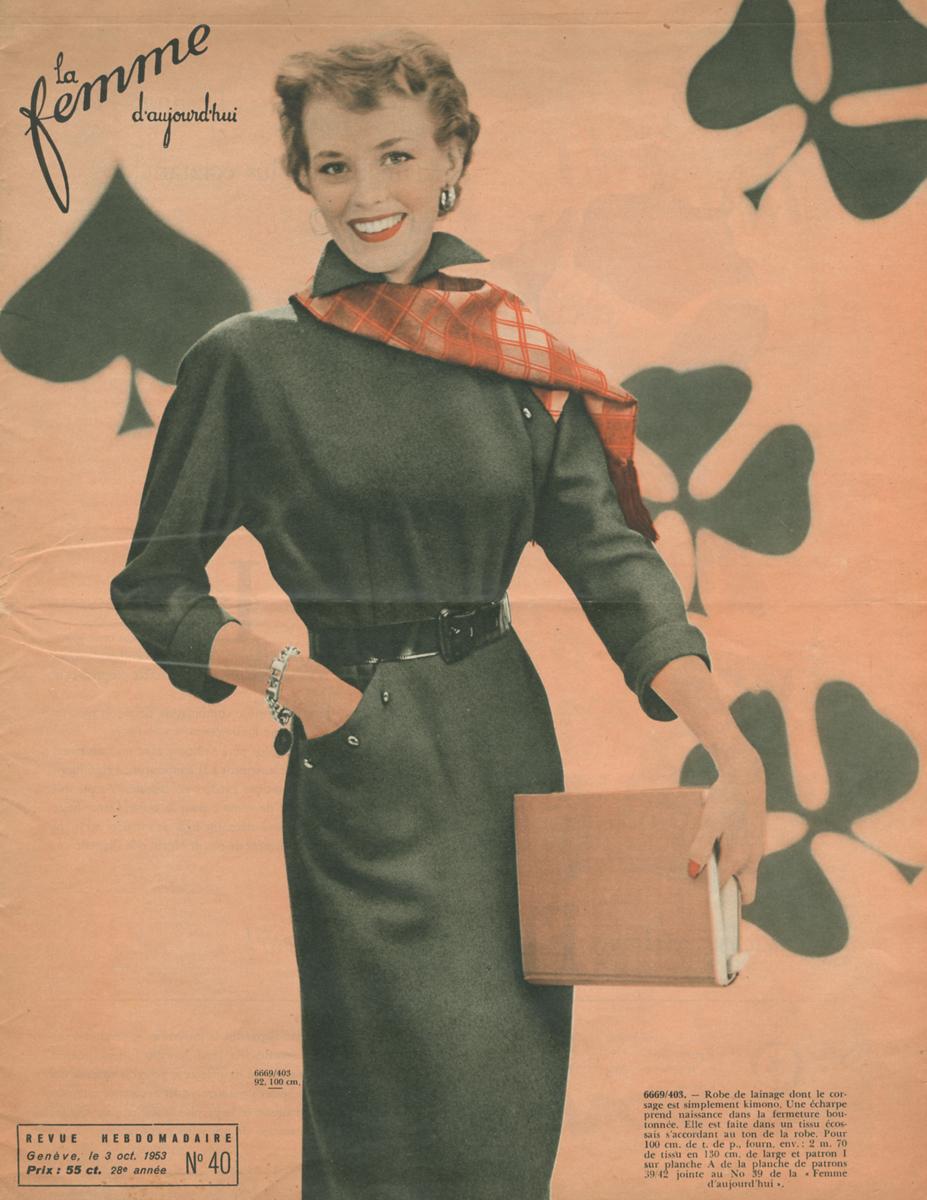 Femmes d'aujourd'hui, �40, 1953