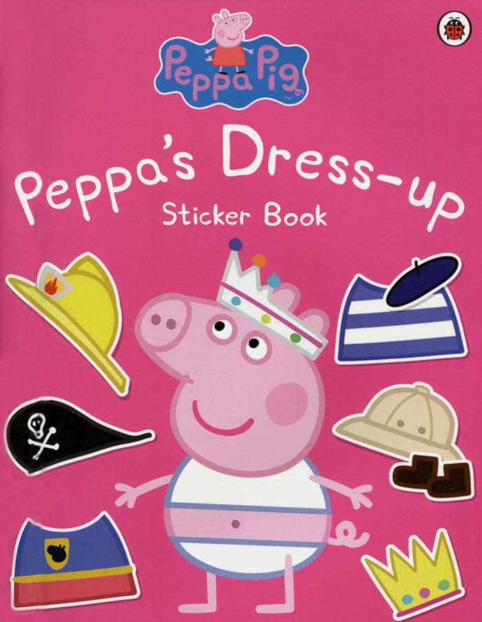 Peppa Dress-Up: Sticker Book