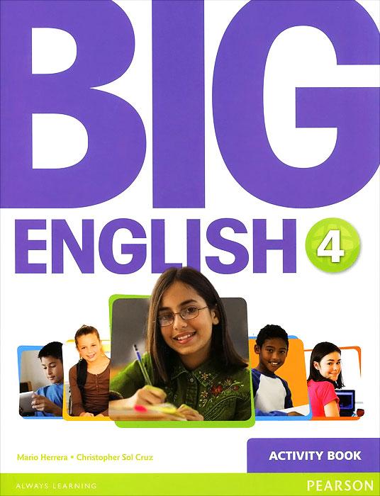 Big English 4: Activity Book (+ наклейки)