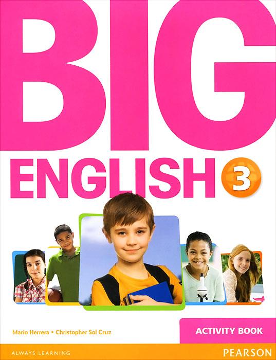 Big English 3: Activity Book (+ наклейки)