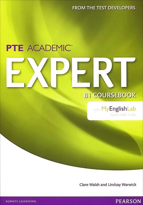 PTE Academic Expert: B1: Coursebook with MyEnglishLab