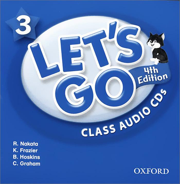 Let's Go 3: Class Audio CDs (аудиокурс на 2 CD)