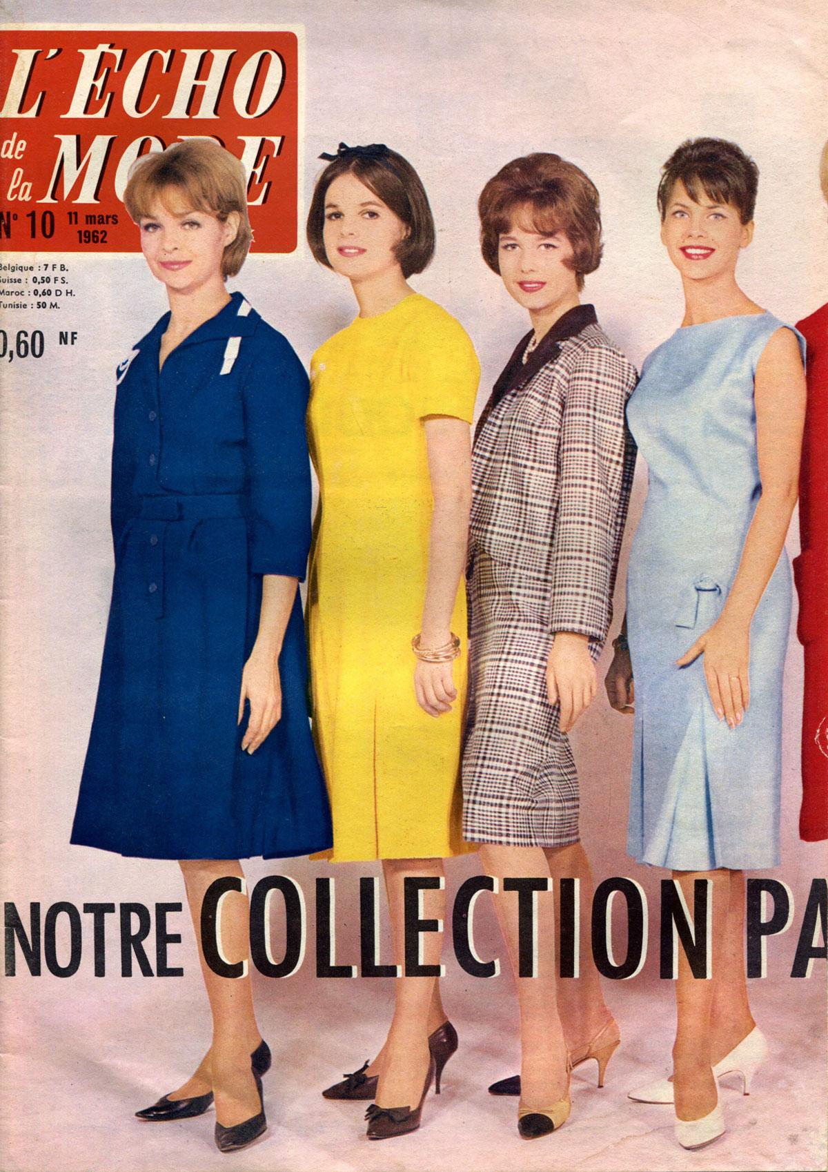 Echo de la mode, №10, mars 1962
