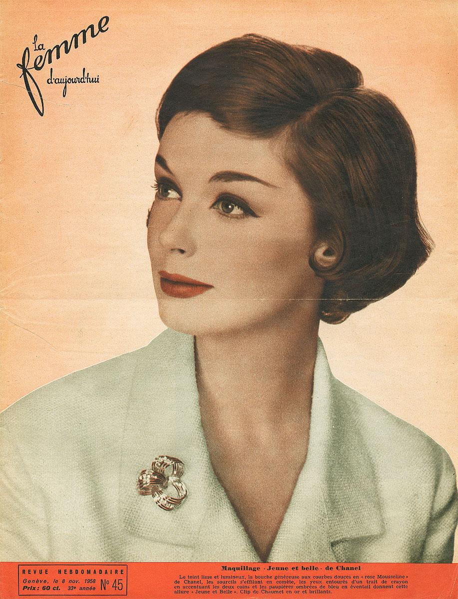 La femme d`aujourd`hui, №45, november 1958