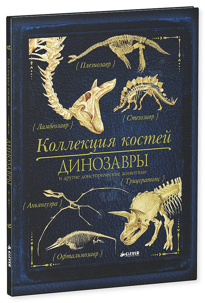 Коллекция костей. Динозавры и другие доисторические животные12296407Что вас ждет под обложкой: Третьей книгой серии Коллекция костей стала удивительная и интересная энциклопедия Коллекция костей. Динозавры и другие доисторические животные. В этой книге вы познакомитесь с коллекцией костей динозавров. Их скелеты приоткроют завесу древних тайн: как жили эти доисторические животные? Чем питались? Как выглядели? Узнай, кто жил до динозавров. Рассмотри огромные зубы гигантозавра. Изучи сложное строение скелета тиранозавра, а еще найди и рассмотри окаменевшую челюсть мегалозавра, познакомься с рогатыми динозаврами и узнай все тайны пситтакозавра! Гид для родителей: Фотографии и копии скелетов динозавров, удивительные научные факты, тонко прорисованные и качественные иллюстрации - все это делает новинку Коллекция костей. Динозавры и другие доисторические животные интересной и неповторимой книгой. В третьей книге серии Коллекция костей, адресованной детям в возрасте от 7-13 лет, вы найдет не только фотографии и рисунки...
