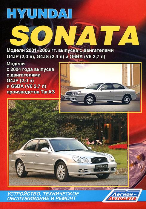 Hyundai Sonata. ������ 2001-2006 ���� ������� � ����������� G4JP (2,0�), G4JS (2,4 �) � G6BA (V6 2,7�). ����������, ����������� ������������ � ������