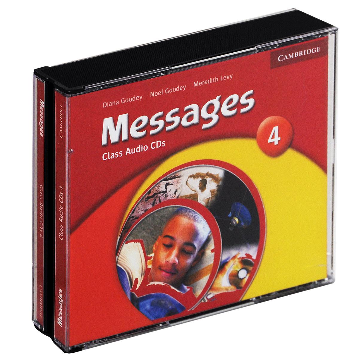 Messages 4: Class CDs (аудиокурс на 3 CD)