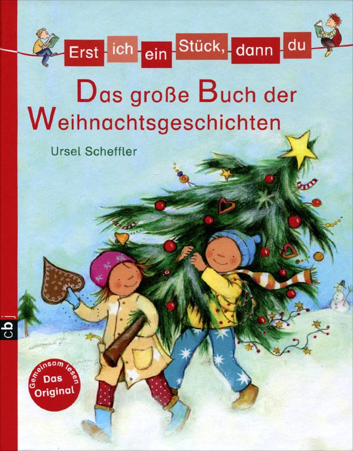 Erst ich ein Stuck, dann du: Das groBe Buch der Weihnachtsgeschichten12296407Kurz vor Heiligabend plagt den Weihnachtsmann plotzlich eine richtige Grippe. Wahrscheinlich weil er mal wieder zu lange im Schneegestober auf dem Weihnachtsmarkt herumgestanden war. Warum Weihnachten trotzdem nicht ausfallen muss und andere Geschichten erzahlt Ursel Scheffler in diesem zauberhaft illustrierten Band von Miriam Cordes. Eine wunderschone Sammlung fur Leseanfanger und Vorleser, die die Vorweihnachtszeit ganz ohne Kalorien versuBt!