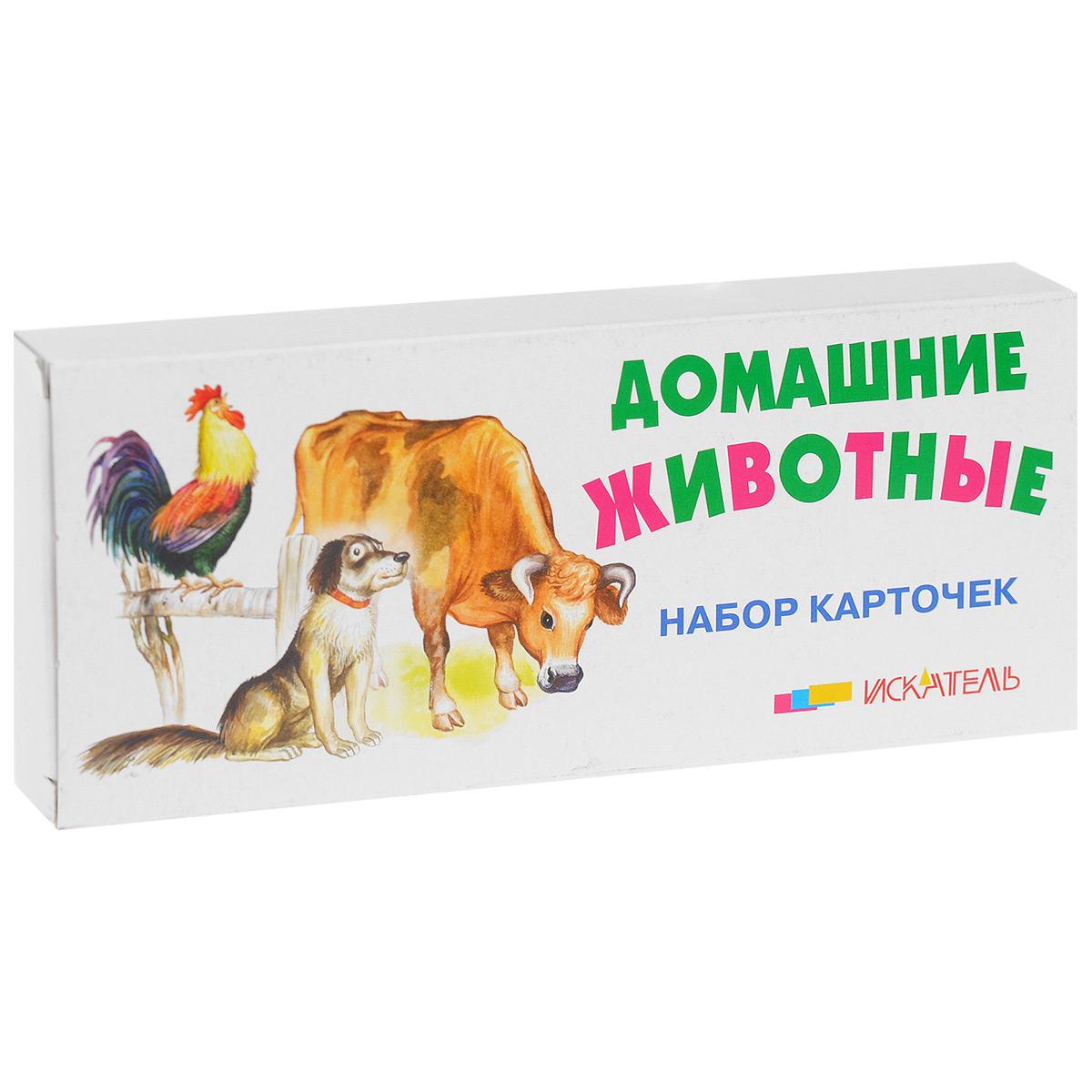 Домашние животные (набор из 22 карточек)
