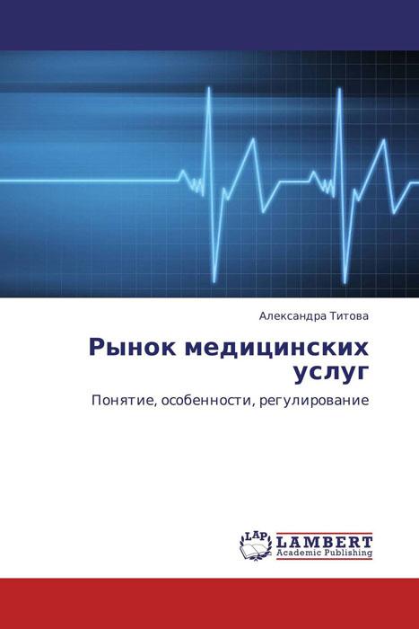 Рынок медицинских услуг