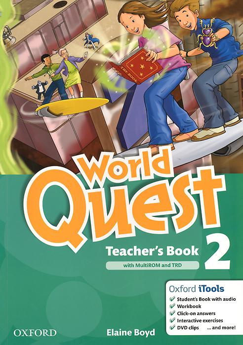 World Quest: Level 2: Teacher's Book (+ 2 CD)