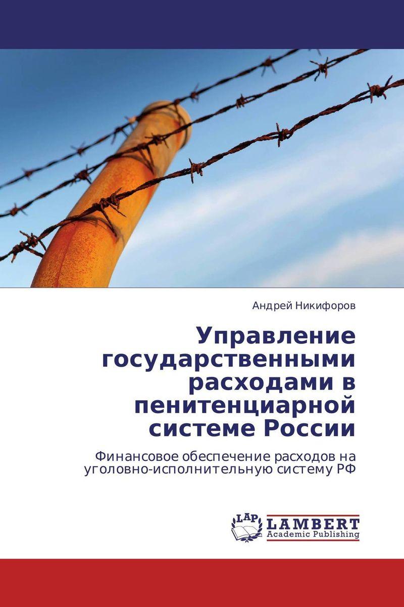 Управление государственными расходами в пенитенциарной системе России