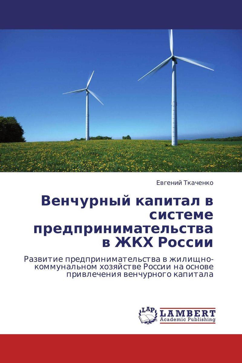 Венчурный капитал в системе предпринимательства в ЖКХ России