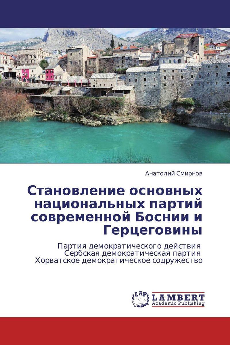 Становление основных национальных партий современной Боснии и Герцеговины