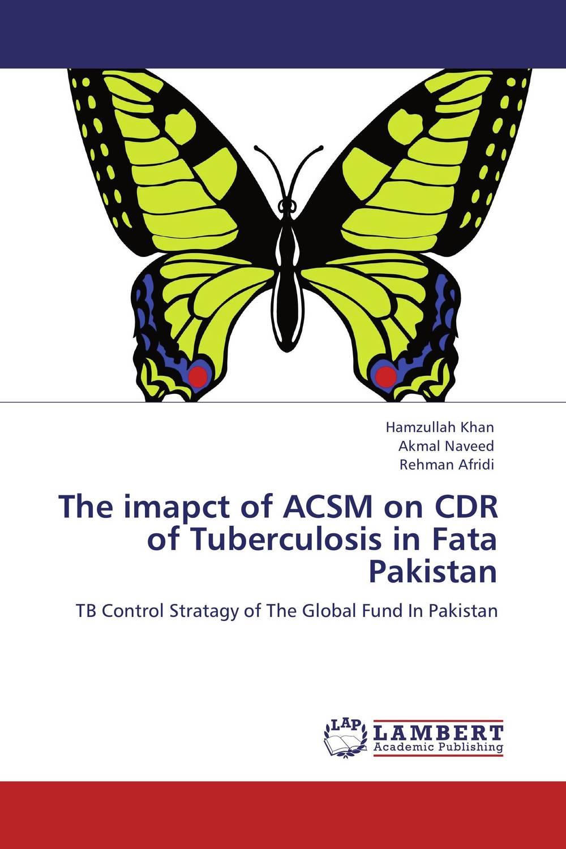 The imapct of ACSM on CDR of Tuberculosis in Fata Pakistan