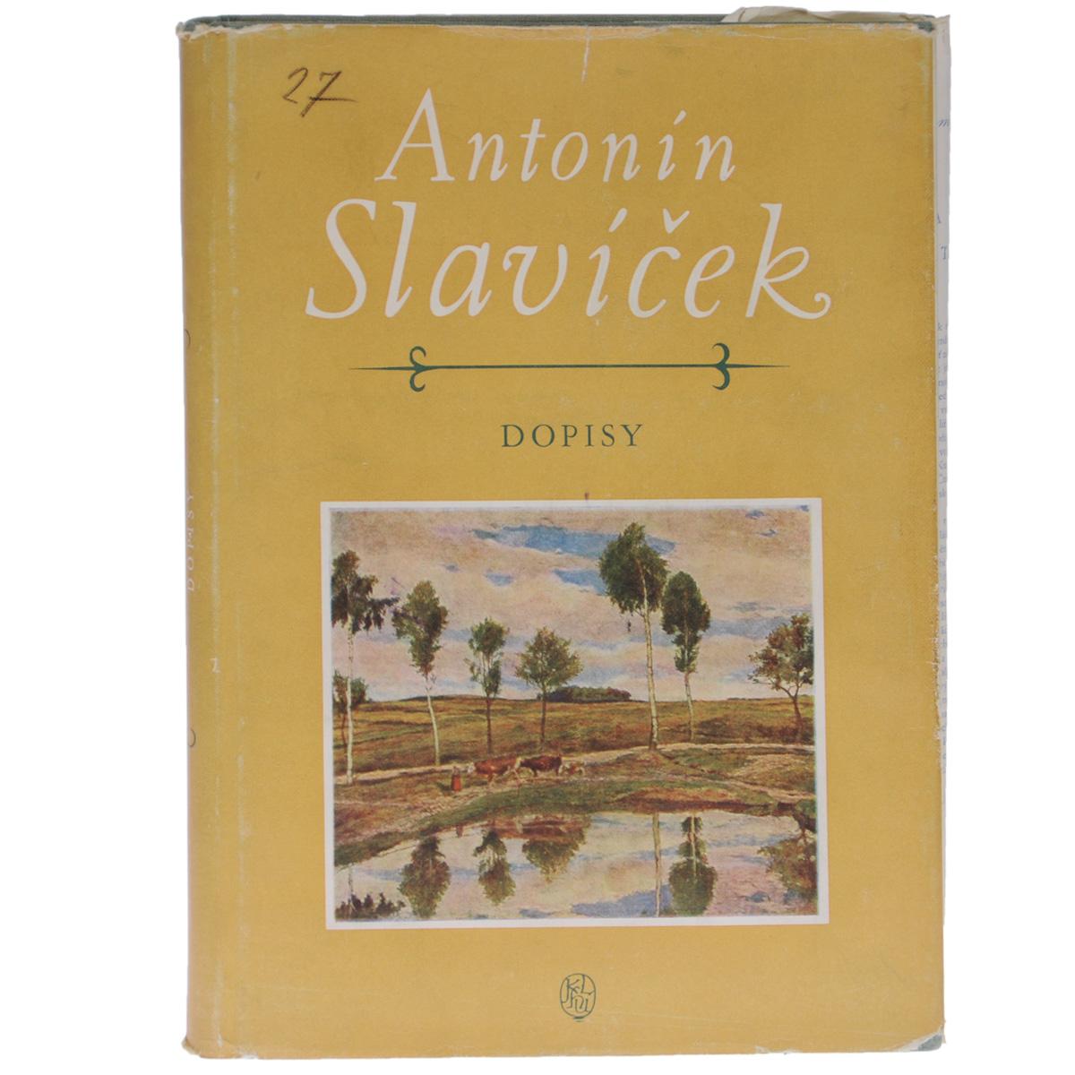 Antonin Slavicek: Dopisy