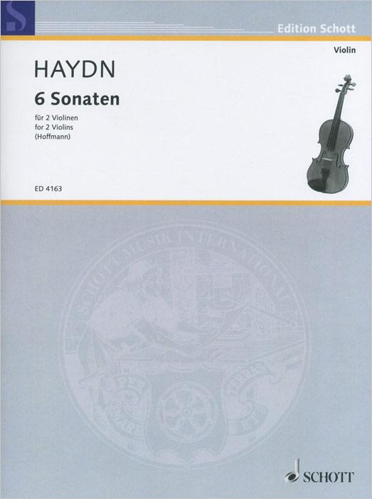 Joseph Haydn: 6 Sonaten fur 2 voilinen