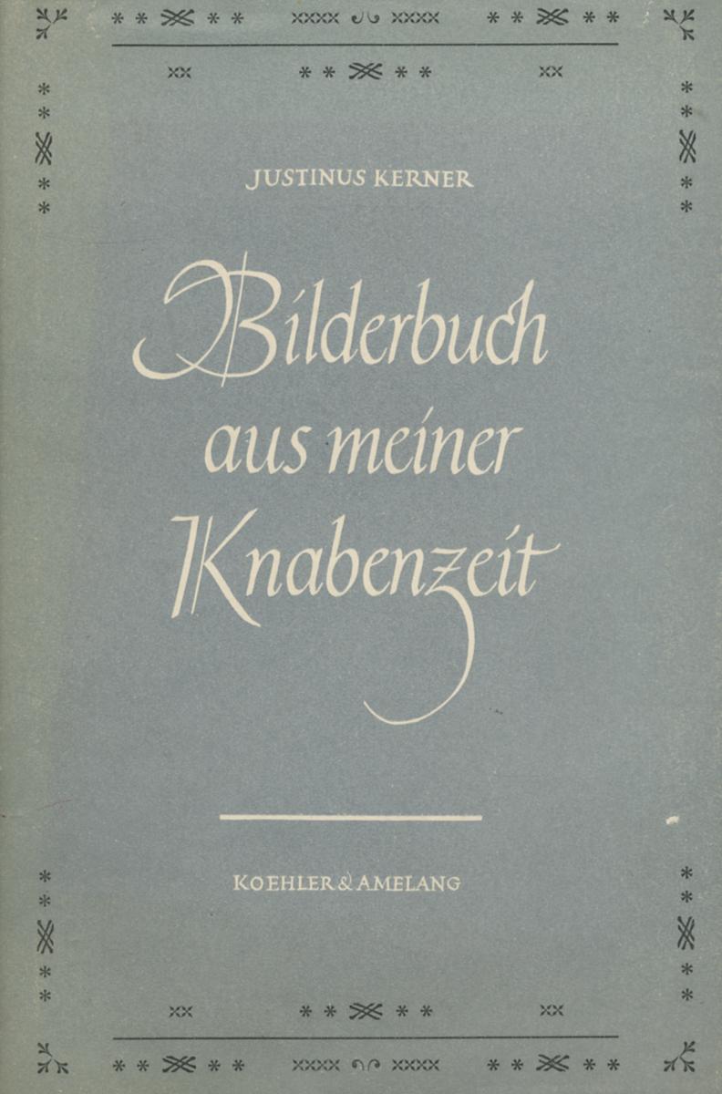 Bilderbuch Aus Meiner Knabenzeit