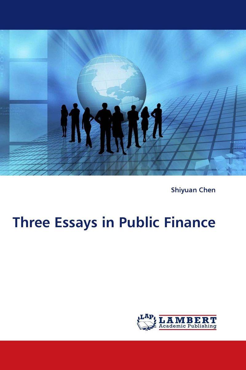 finance 1 essay