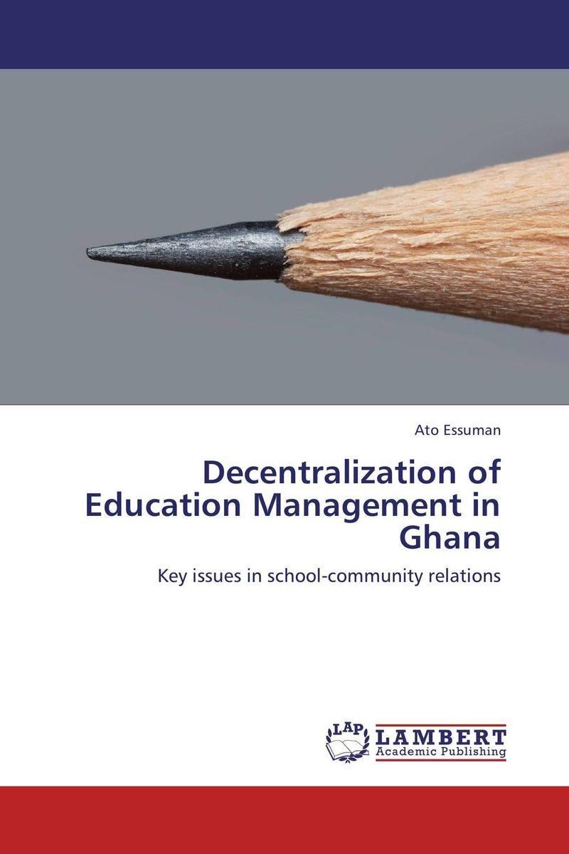 Decentralization of Education Management in Ghana