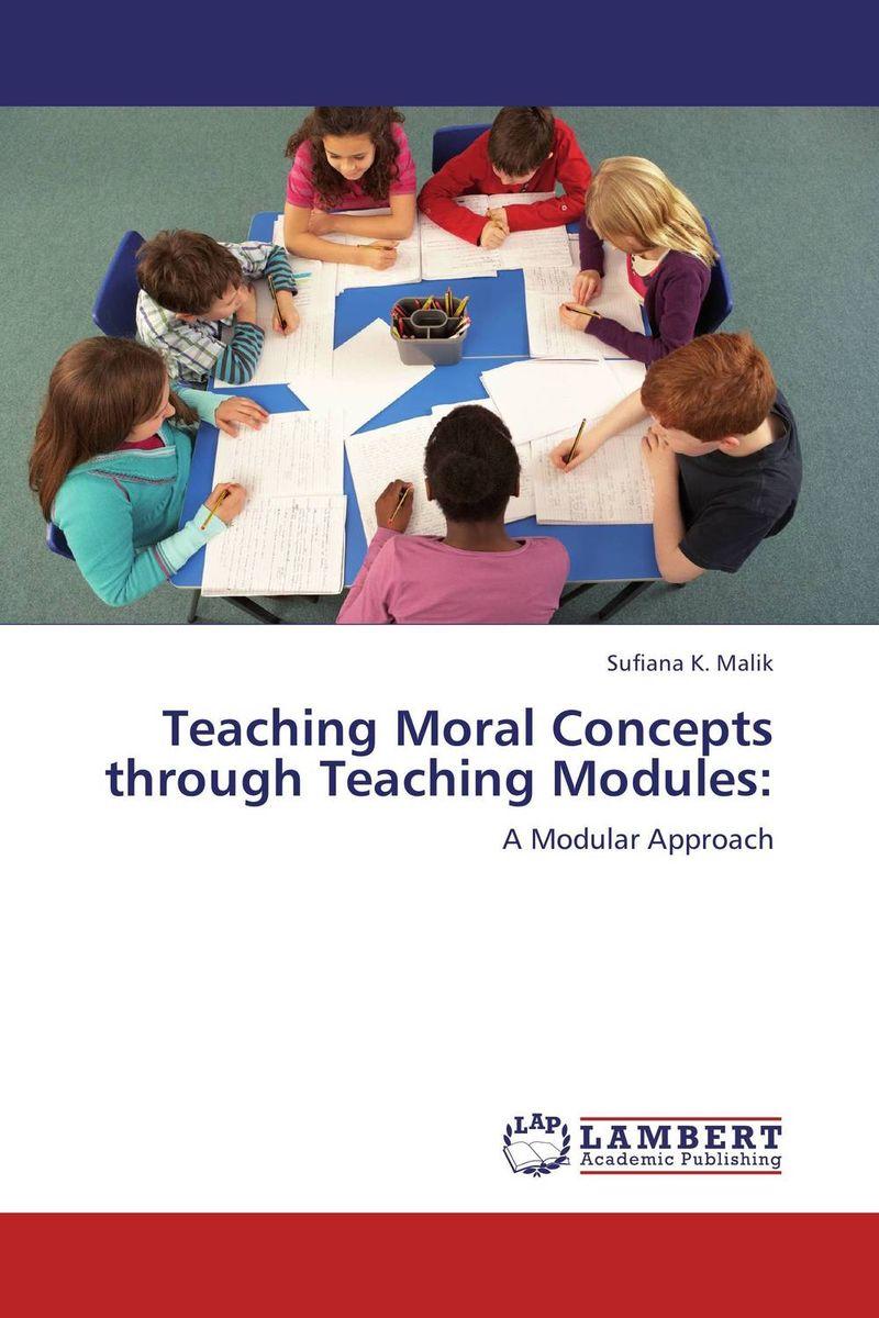 Teaching Moral Concepts through Teaching Modules: