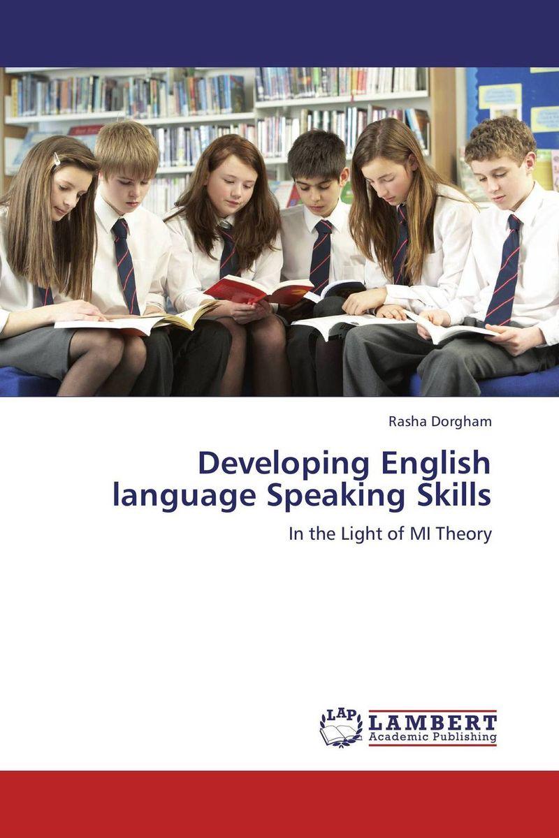 Developing English language Speaking Skills