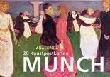 Edvard Munch Postkartenbuch