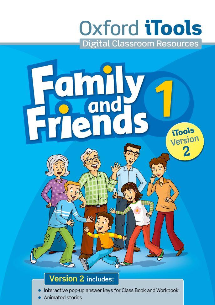 FAMILY & FRIENDS 1 iTOOLS DVD-ROM NE