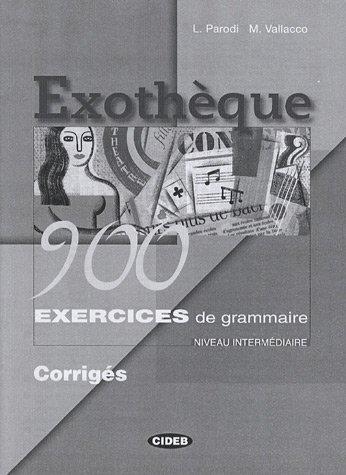 Exotheque 900 Exercices De Grammaire Corriges ( 9788853000804 )