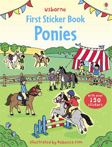 First Sticker Book: Ponies