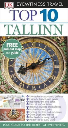 DK Eyewitness Top 10 Travel Guide: Tallinn ( 9781409355830 )