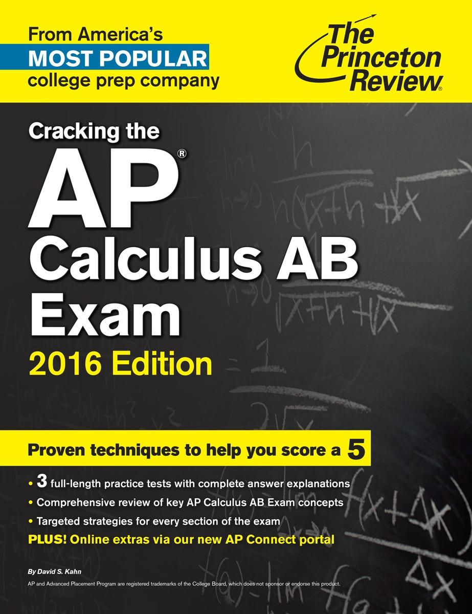 CRACK AP CALCULUS AB 2016