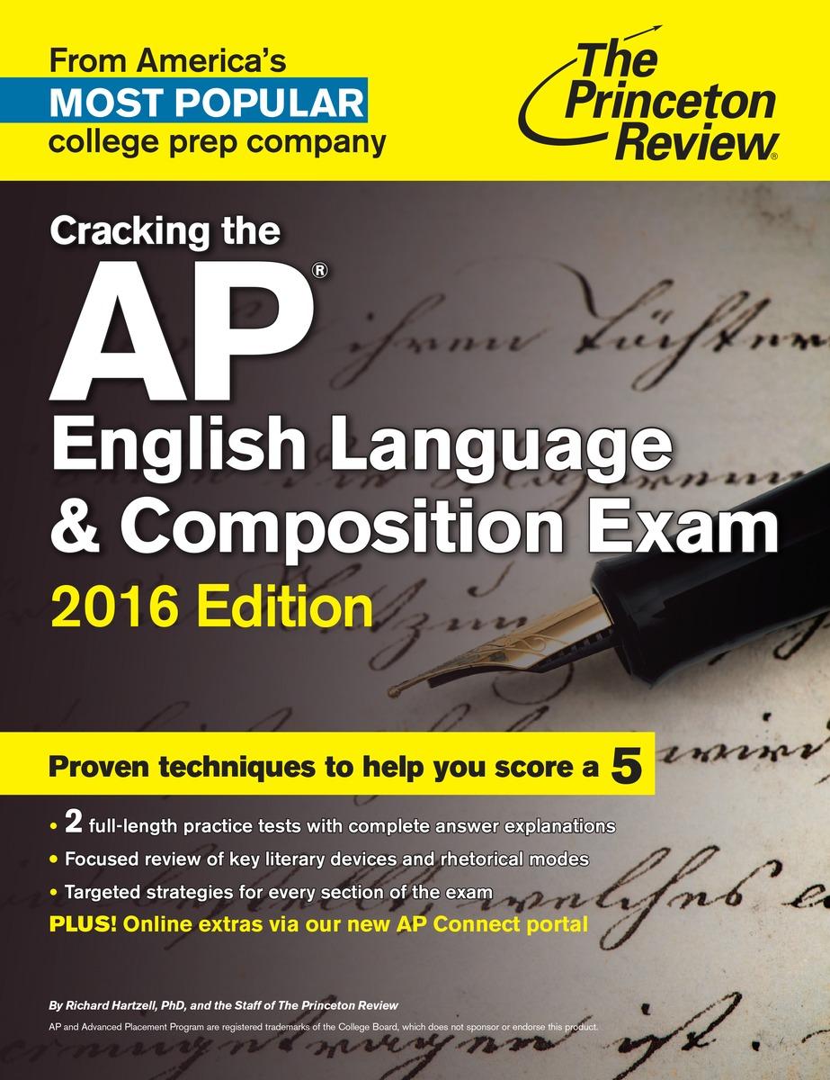 CRACK AP ENGL LANG 2016