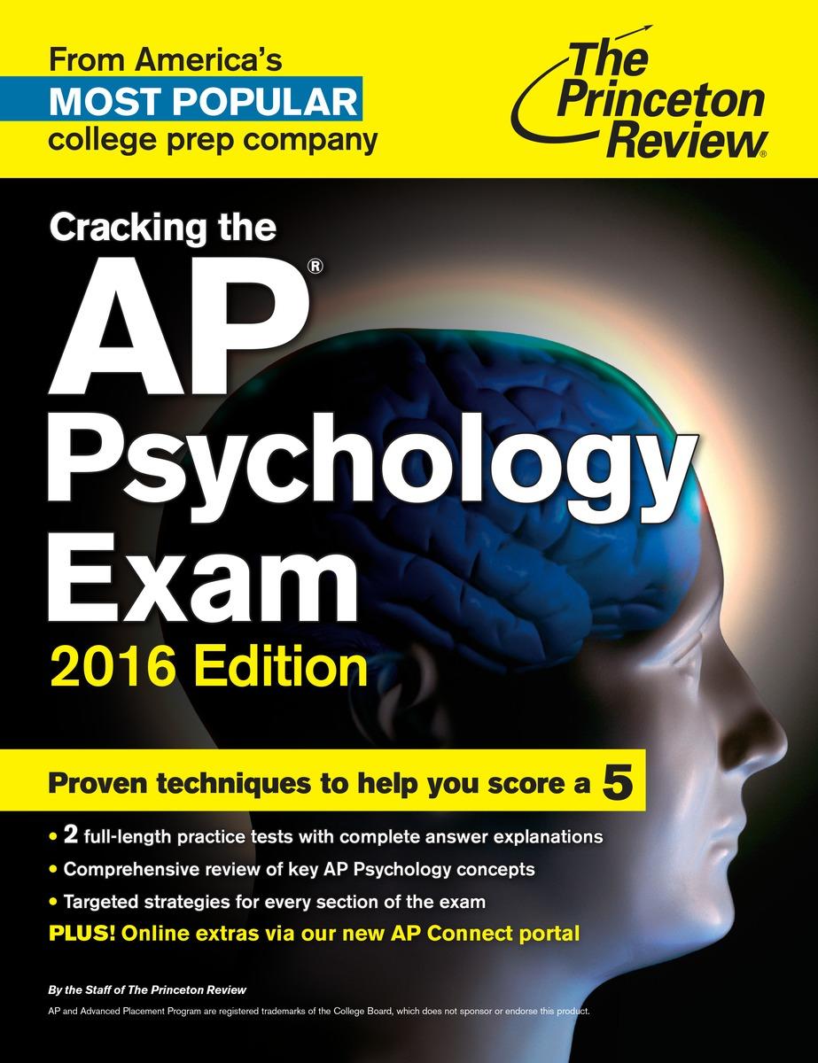 CRACK AP PSYCHOLOGY 2016
