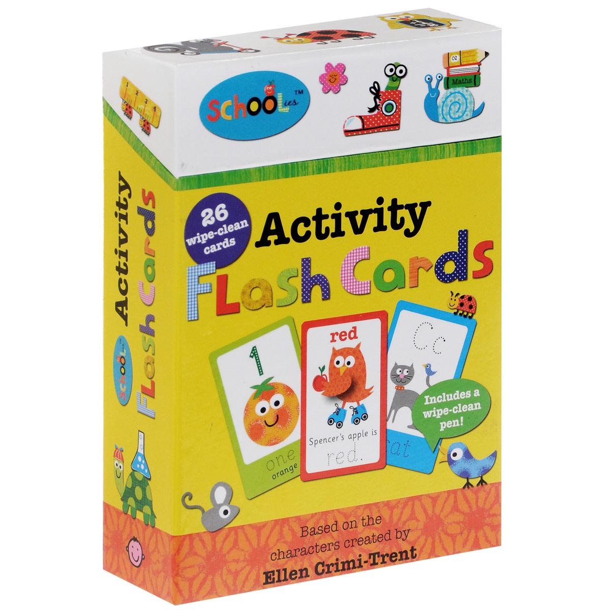 Activity Flash Cards (набор из 26 карточек + фломастер)