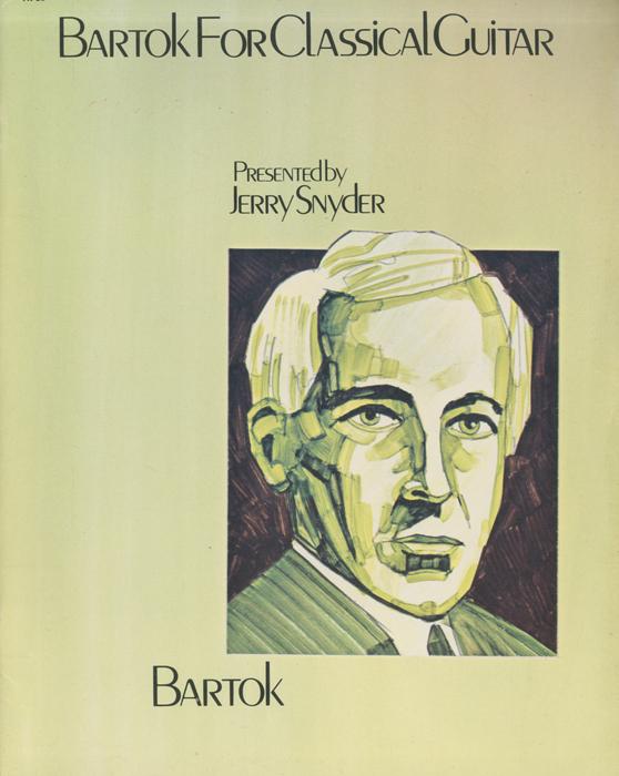 Bartok for classical guitar