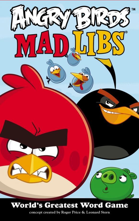 Angry Birds Mad Libs ( 9780843180732 )