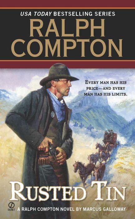 Ralph Compton Rusted Tin