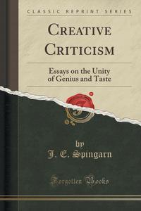 Essays In Criticism
