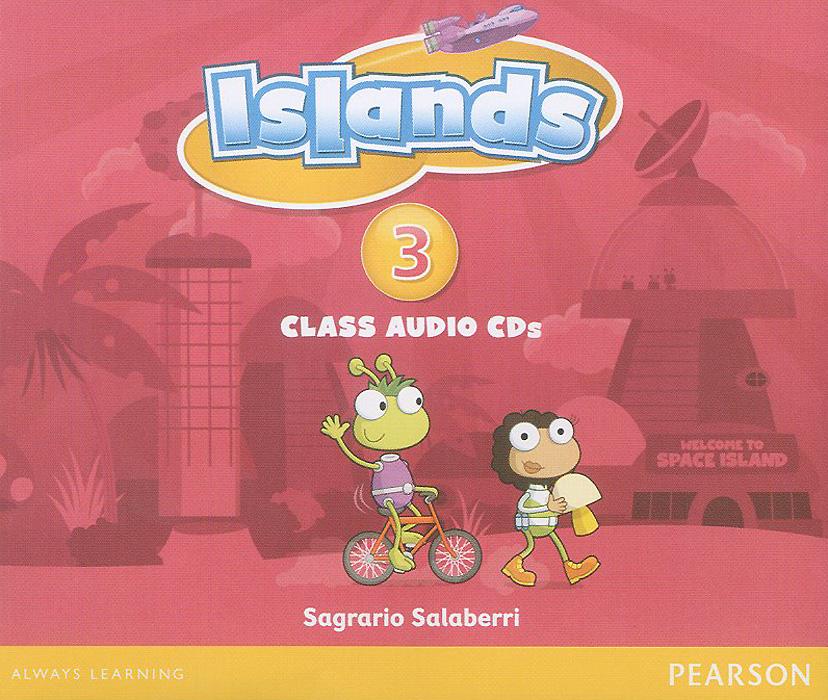 Islands: Level 3: Class Audio CDs (аудиокурс на 4 CD)