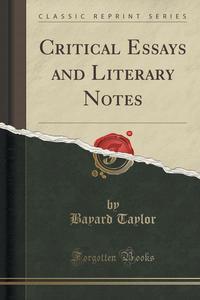 critical essays on british literature