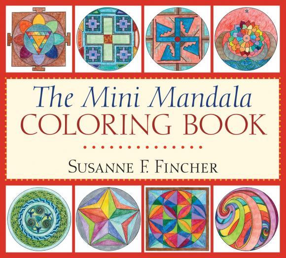 The Mini Mandala Coloring Book