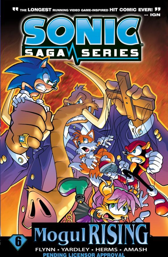Sonic Saga Series 6: Mogul Rising
