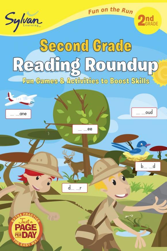 Second Grade Reading Roundup (Sylvan Fun on the Run Series)